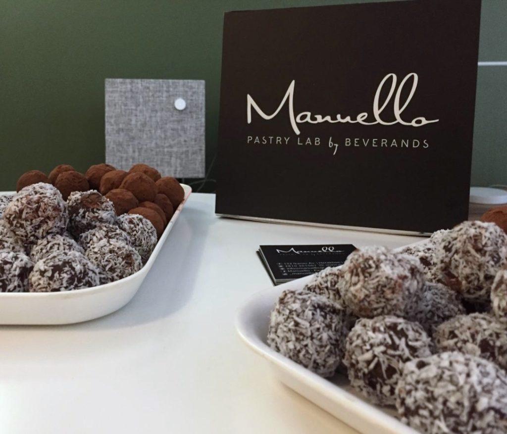 Office warming Manuello vegan truffles